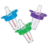 Munchkin Blue/Green/Purple Medicator Pacifier Medicine Dispenser (3 Pack)