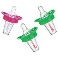 Munchkin Pink/Green/Green Medicator Pacifier Medicine Dispenser (3 Pack)