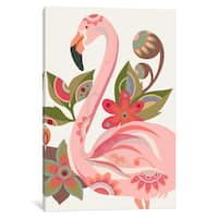 iCanvas 'The Flamingo' by Valentina Harper Canvas Print