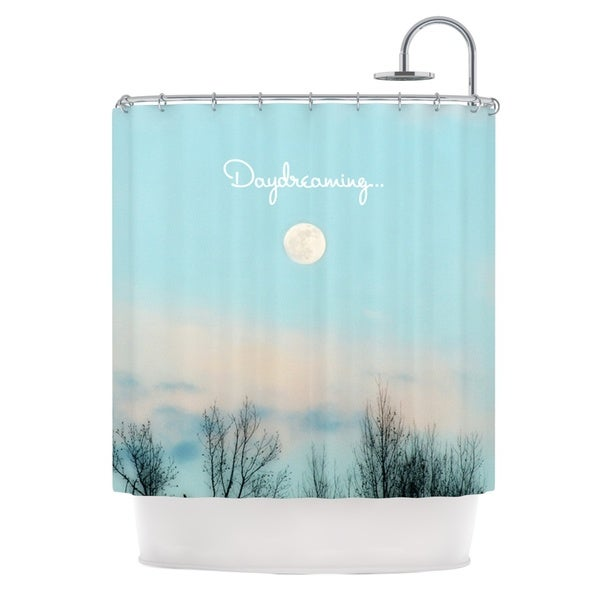 KESS InHouse Beth Engel Day Dreaming Sky Clouds Shower Curtain (69x70)