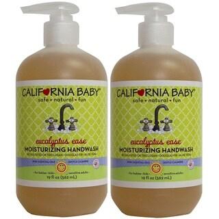 California Baby 19-ounce Eucalyptus Ease Moisturizing Handwash (Set of 2)