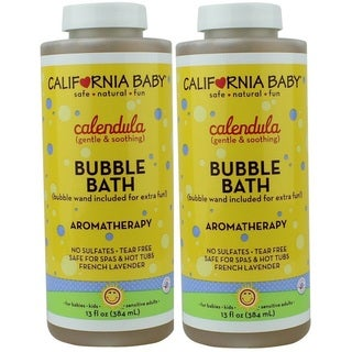 California Baby 13-ounce Calendula Bubble Bath (2 Pack)