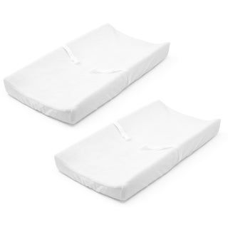 Summer Infant White Ultra Plush Changing Pad Cover (2 Count)