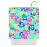 KESS InHouse Beth Engel Flower Garden Shower Curtain (69x70)