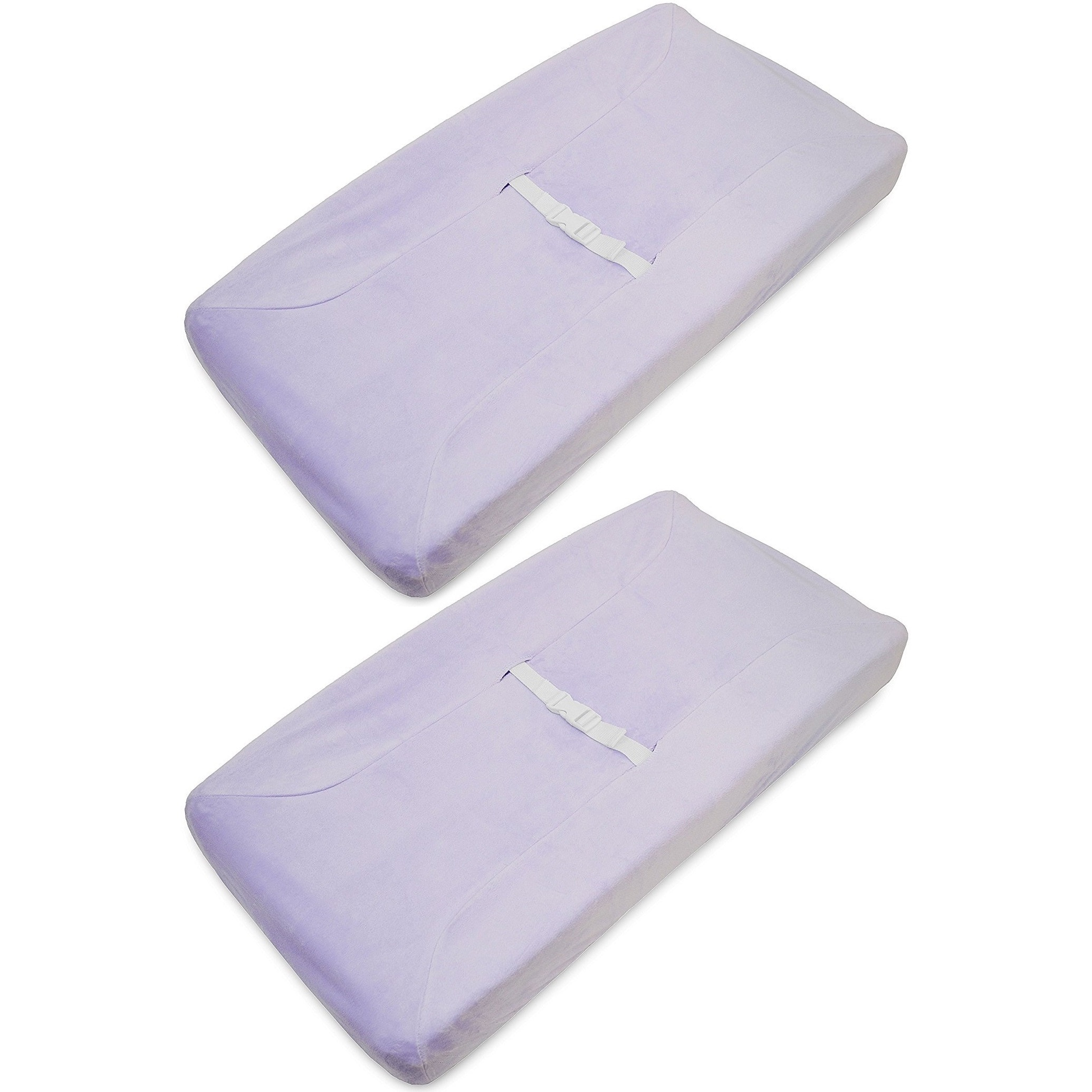 American Baby Lavender Heavenly Soft Contoured Pad Changi...