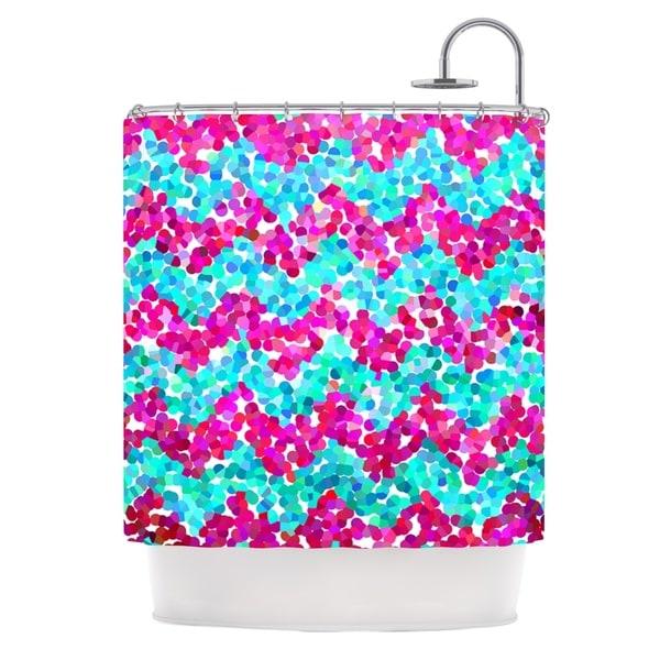 KESS InHouse Beth Engel Scattered Shower Curtain (69x70)