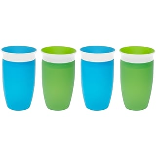 Munchkin Green/Blue 10-ounce Miracle 360 Sippy Cup (4 Pack)