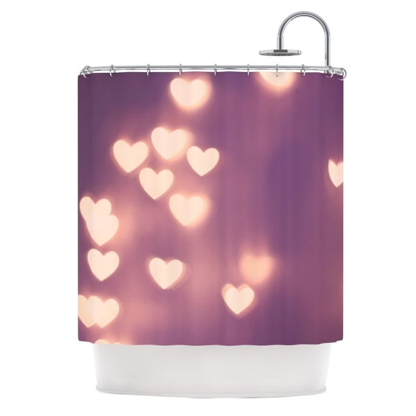 KESS InHouse Beth Engel Your Love is Electrifying Shower Curtain (69x70)