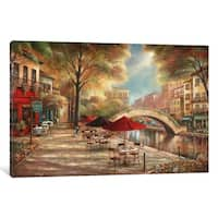 iCanvas 'Riverwalk Charm' by Ruane Manning Canvas Print
