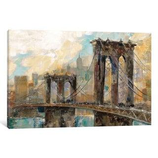 iCanvas 'Manhattan Memories' by Ruane Manning Canvas Print