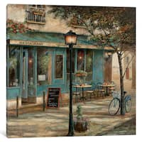 iCanvas 'Jardin Notre Dame II' by Ruane Manning Canvas Print
