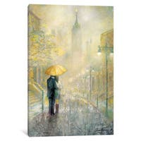 iCanvas 'City Romance I' by Ruane Manning Canvas Print
