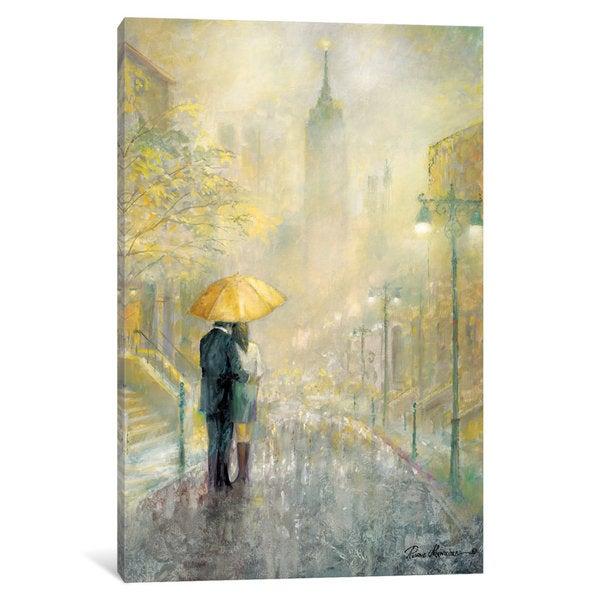 iCanvas 'City Romance I' by Ruane Manning Canvas Print