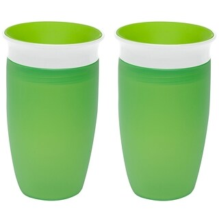 Munchkin Green 10-ounce Miracle 360 Sippy Cup (2 Count)
