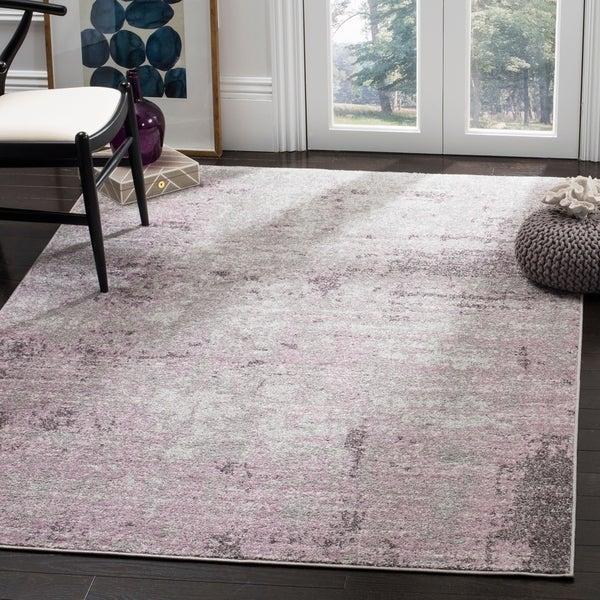 Shop Safavieh Adirondack Modern Abstract Grey Purple