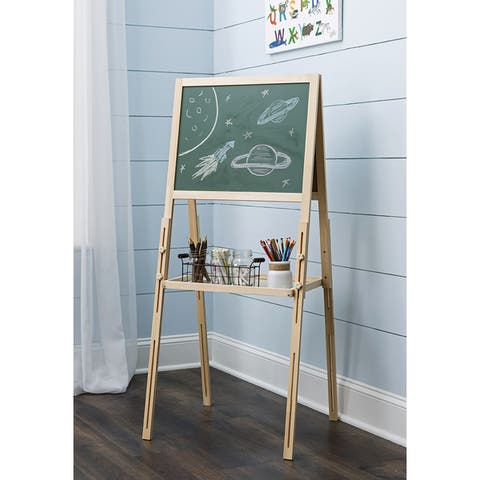 """ClosetMaid KidSpace Chalkboard and Dry Erase Easel - 52"""" H x 21"""" W x 21"""" D"""