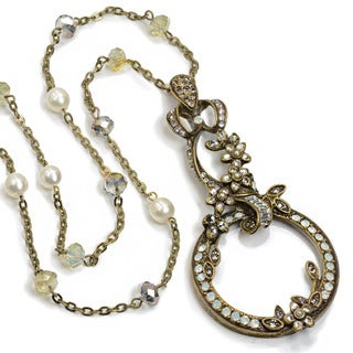 Swet Romance Victorian Magnifying Glass Caroline Magnifier Necklace