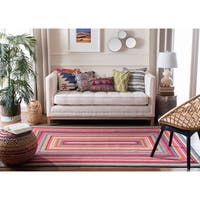 Safavieh Braided Contemporary Hand-Woven Multi Area Rug - 4' x 6'
