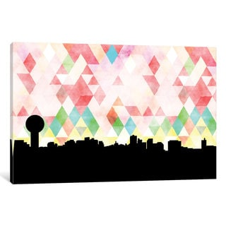 iCanvas 'Geometric Skyline Series: Knoxville' by PaperFinch Design Canvas Print