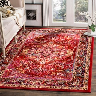 Safavieh Cherokee Transitional Red/ Pink Area Rug (4' x 6')