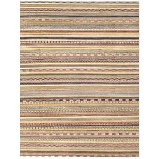 Herat Oriental Afghan Hand-knotted Vegetable Dye Gabbeh Wool Rug (9' x 11'8)