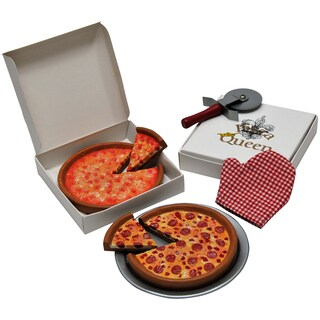 The Queen's Treasures Pizza Night Set For 18-inch Dolls