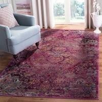 Safavieh Crystal Pink/ Purple Area Rug - 3' X 5'