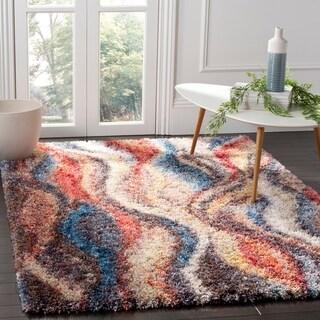 Safavieh Gypsy Shag Syreeta Abstract Polyester Rug