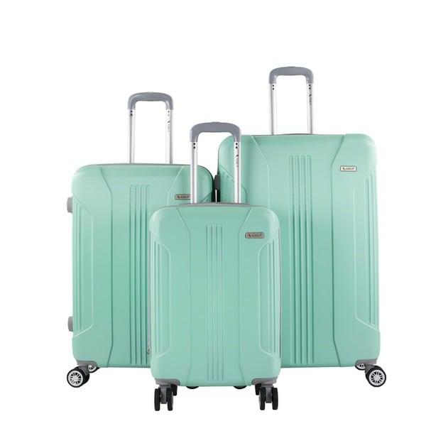 AMKA Sierra 3-Piece Expandable Hardside Spinner Luggage Set