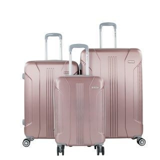 AMKA Sierra 3-Piece Expandable Hardside Spinner Luggage Set