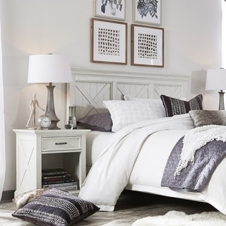 Seaside Lodge Queen/Full Headboard & Night Stand