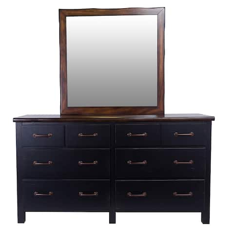 Big Sur Six Drawer Dresser and Optional Landscape Mirror by Panama Jack
