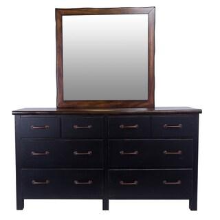 Big Sur Six Drawer Dresser and Optional Landscape Mirror by Panama Jack