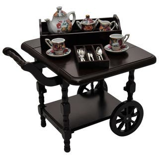 The Queen's Treasures Wooden American Style Drop Leaf Tea Cart Furniture & Accessories For 18-inch Dolls|https://ak1.ostkcdn.com/images/products/15125995/P21610666.jpg?impolicy=medium