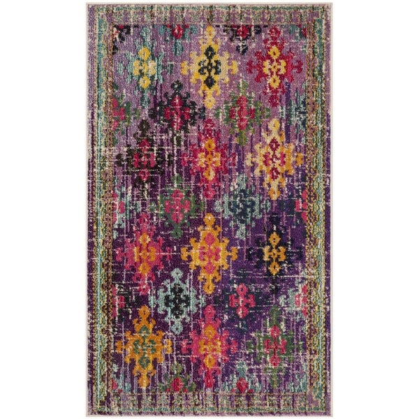 Shop Safavieh Monaco Vintage Bohemian Purple Multi