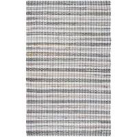 Safavieh Montauk Hand-Woven Grey/ Multi Cotton Area Rug - 3' x 5'
