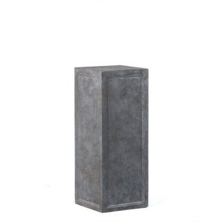 Alfresco Home Tall Contadina Pedestal, Stromcloud Finish