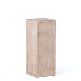 Alfresco Home Tall Contadina Pedestal, Tallow Finish