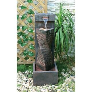 Alfresco Home Spiral Indoor/ Outdoor Fountain