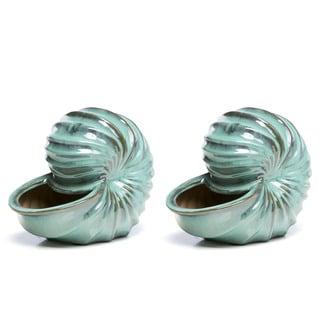 Link to Alfresco Home Ceramic Seashell Similar Items in Outdoor Decor