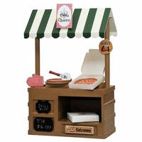 The Queen's Treasures Pizza Shop Furniture & Accessories Set for 18-inch Dolls