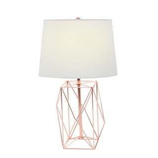 Fascinating Metal Copper Wire Table Lamp