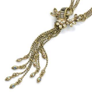 Sweet Romance Vintage Caroline Flourish Tassel Y Necklace