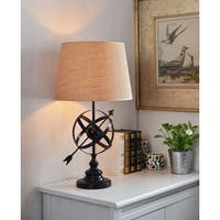 Equatorial 27-inch Table Lamp - Golden Flecked Bronze