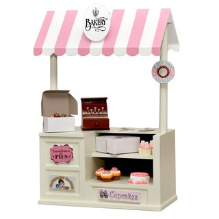 The Queen's Treasures Complete 35-piece Doll Bakery Shop For 18-inch Dolls