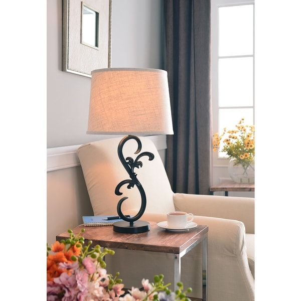 Scroll Table Lamp