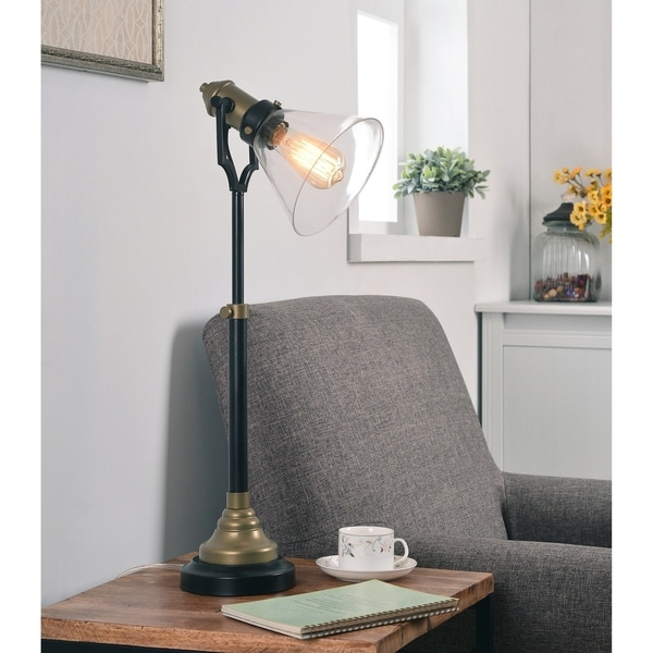 Lookout Oil Rubbed Bronze Adjustable Table Lamp