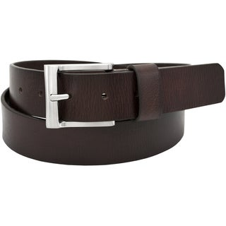 Florsheim Full Grain Buffalo Leather 35-millimeter Big and Tall Casual Belt