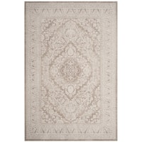 Safavieh Reflection Beige/ Cream Polyester Area Rug - 3' x 5'