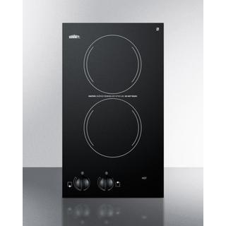 """Summit CR2110 12"""" Smoothtop Electric Cooktop"""